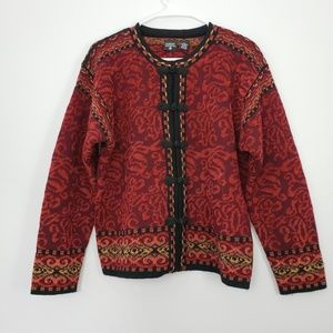 Nordic Design Vintage Wool Blend Chunky Sweater